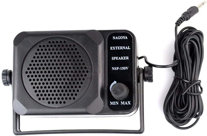 GZ HaiQianXin NSP-150V Mini Altavoz Externo para HF VHF UHF ...