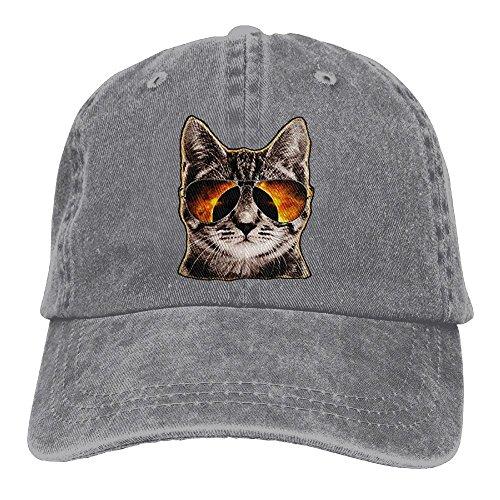 Hainingshihongyu Solar Eclipse Cat Baseball Caps Adult Sport Cowboy Trucker Hats Adjustable - Best Kansas City In Malls