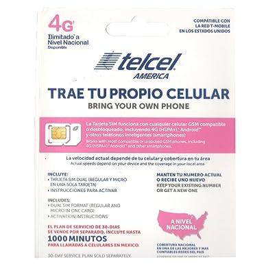 Amazon.com: Telcel America Trae Tu Propio Celular: Cell ...