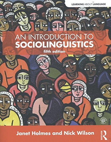 An Introduction to Sociolinguistics (Learning about Language) - Language And Ethnicity