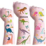 DmHirmg Dinosaur Temporary Tattoos for Kids Boys Girls,Kids Dinosaur Tattoos Sets, Waterproof Fake Tattoo Stickers, Kids…
