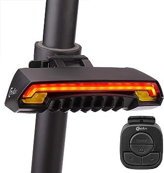 FARRIDE - Luz trasera para bicicleta con mando a distancia ...
