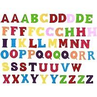 EXCEART 50 Piezas de Fieltro de Colores Letras