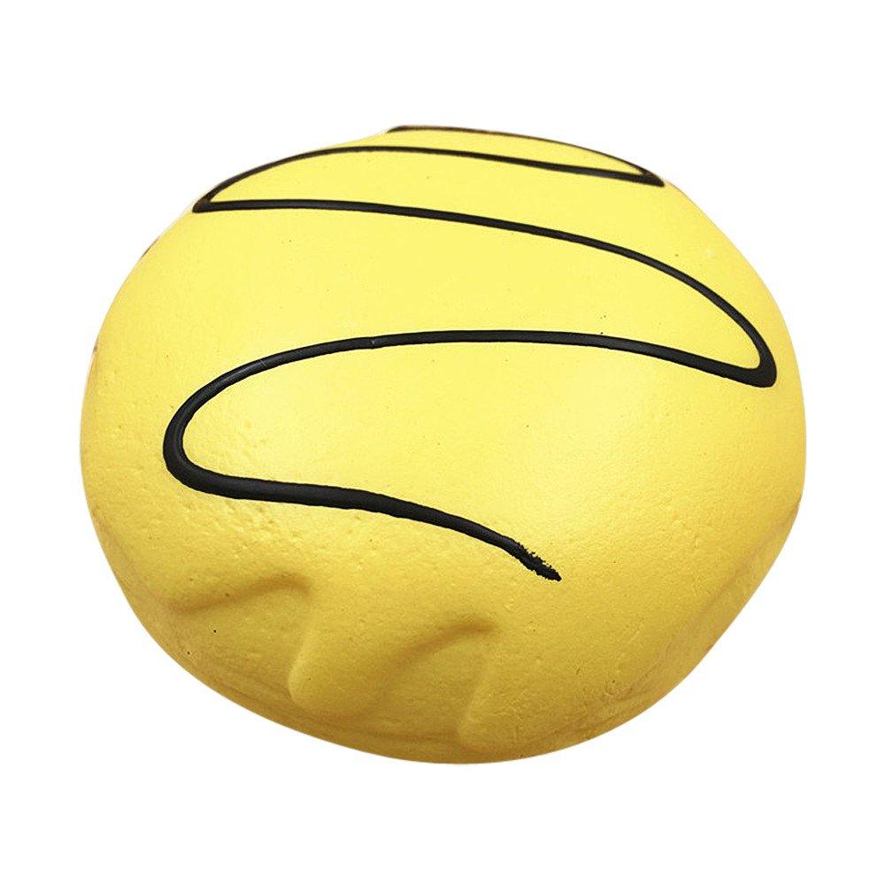 Prise Druck Dekompression Spielzeug langsam Rebound PU Extrusion Spielzeug, Malloom Squishy Squeeze Stressabbau Weichen bunten Donut duftenden steigenden Malloom-Bekleidung
