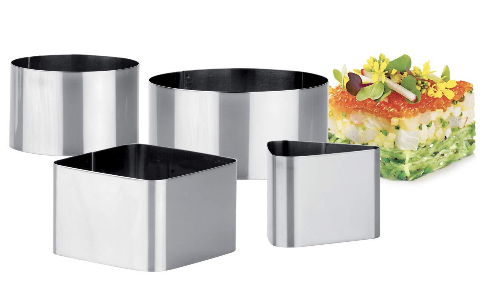 Tescoma 428262 - Juego de 4 moldes Emplatar Chef product image