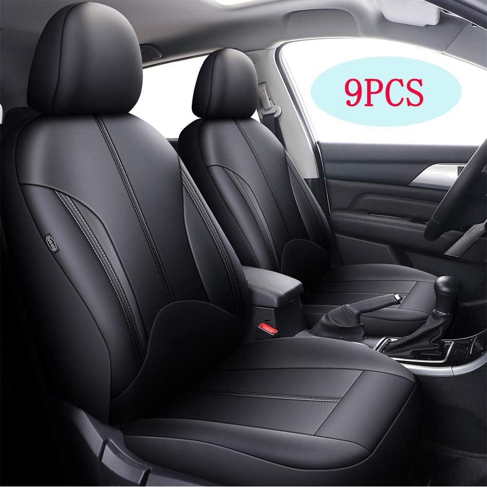 Coprisedili Per Auto Protezione Universale Per Auto In Pelle Sintetica Accessori Per Auto Per Berlina Pick-up SUV Accessori Per Cani Impermeabili