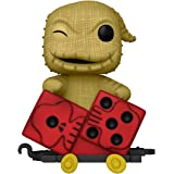 Funko Pop! Train: Nightmare Before Christmas - Oogie in Dice Cart Multicolor ,3.75 inches