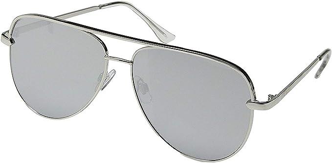 85195c7caf Amazon.com  Steve Madden Women s Sm482104 Aviator Sunglasses Rose ...