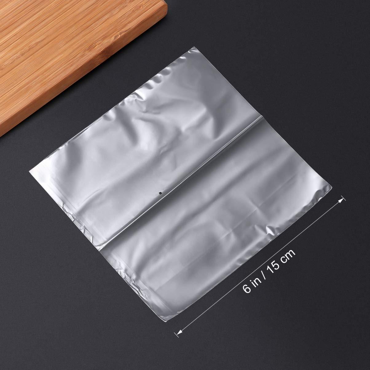 SUPVOX 200 pezzi termoretraibili sacchetti termoretraibili pof impermeabili per confezioni regalo fai da te artigianato trasparente