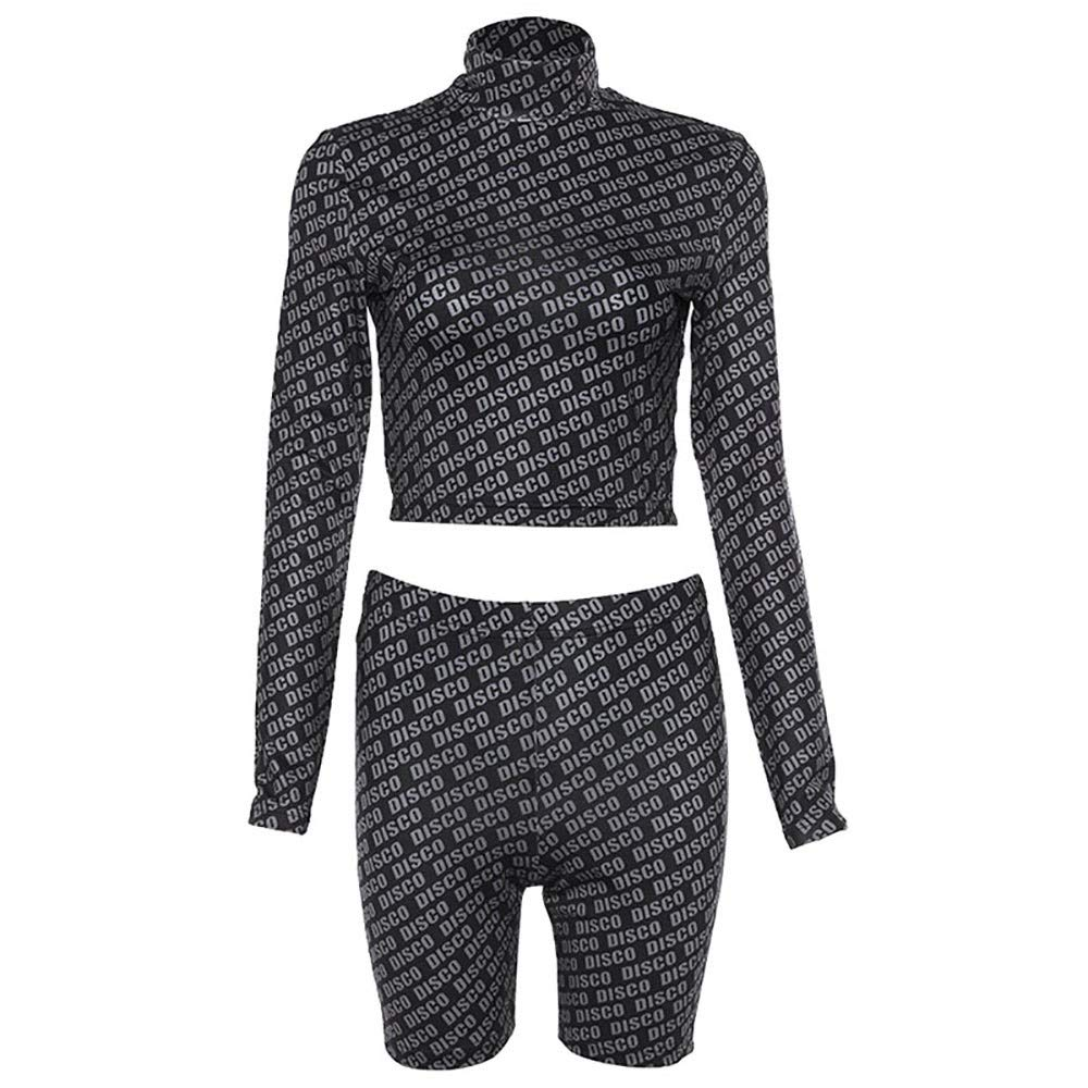Nadition Fashion Clothes Set for Women Hot New Street Slimming Shot