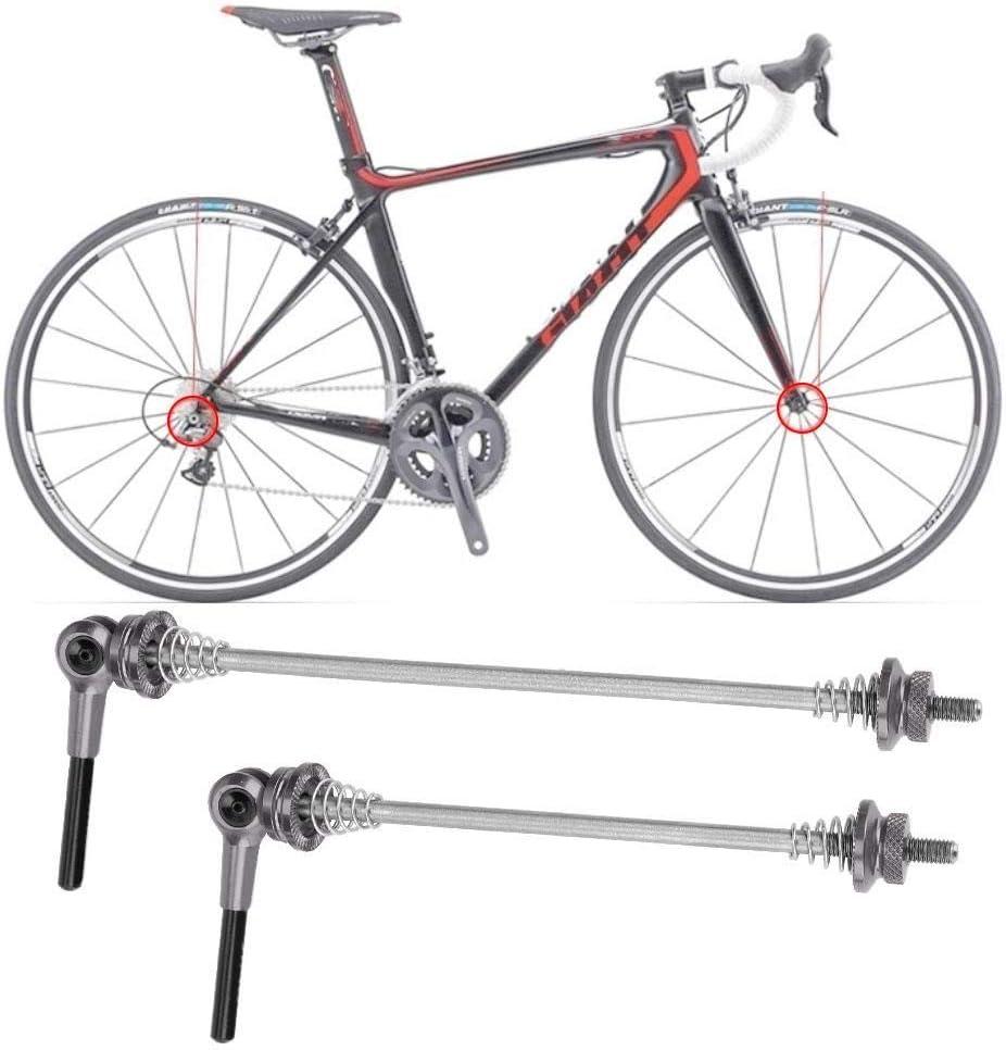 Bicicleta de liberaci/ón r/ápida Rueda pincho neum/ático pincho Centro para Bicicleta de Carretera de monta/ña VGEBY1 1 Par De Pinchos de Bicicleta