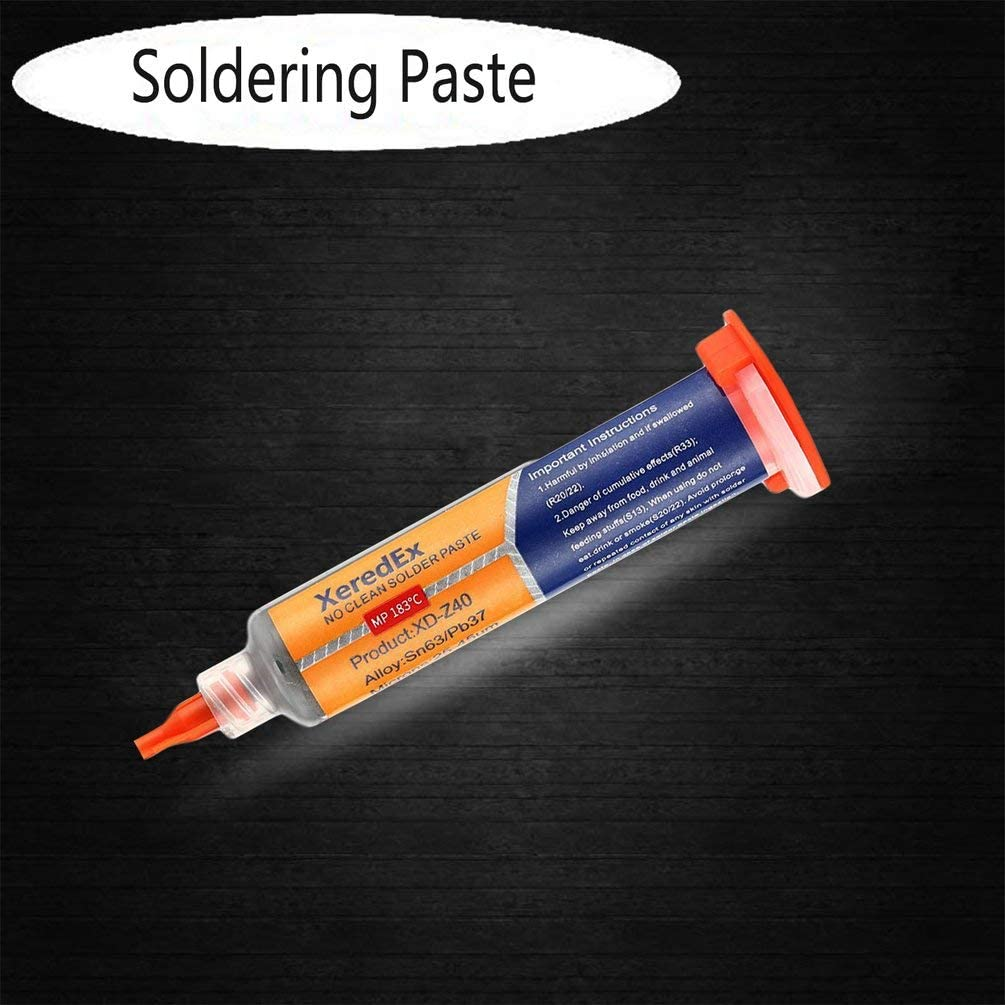No-Clean Soldering Paste Tin Mud Phone Repair Tool SMT Patch Maintenance LED Multicolor