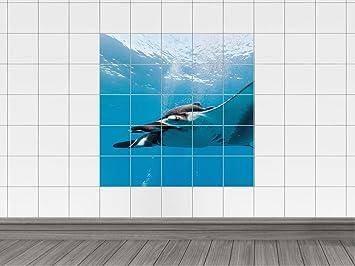 Graz design piastrelle adesivo piastrelle immagine pesce sott
