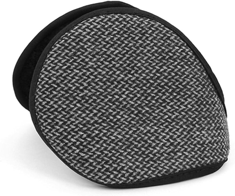 Fleece Ear Warmers Earmuffs for Winter Behind-the-head Foldable Ear Band