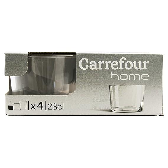 Carrefour Home 105583524 Transparente 4pieza(s) Taza y tazón ...
