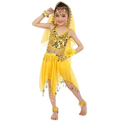 Vestito Ventre Bambina Del Amazzon Danza OXTwPiuZk
