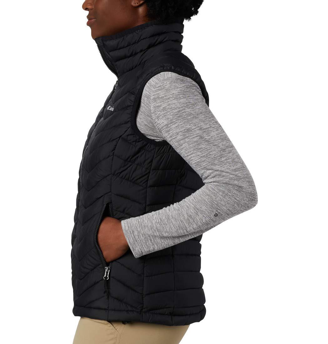 Columbia Powder Lite Vest Femme Noir (Black)