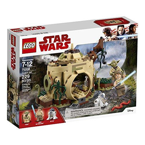 LEGO-Star-Wars-Yodas-Hut-75208-Building-Kit-229-Piece-Stacking-Toys