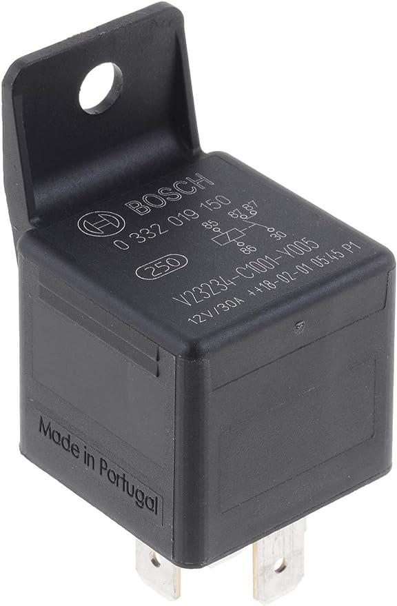 One New Bosch Multi Purpose Relay 0322015006 1324749 for Volvo /& more