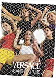 **PRINT AD** With Bridget Hall For Versace Jeans Couture Chain Link **PRINT AD**