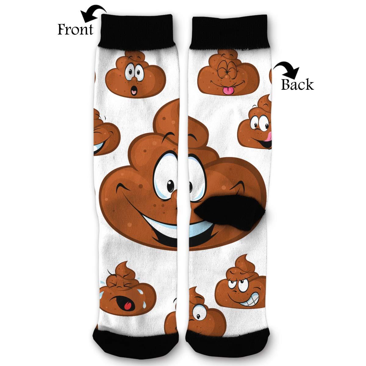 ec2ad1c2de16 Funny Poop Crew Socks - Fun Novelty Socks - Unisex, One Size Fits Most at  Amazon Women's Clothing store: