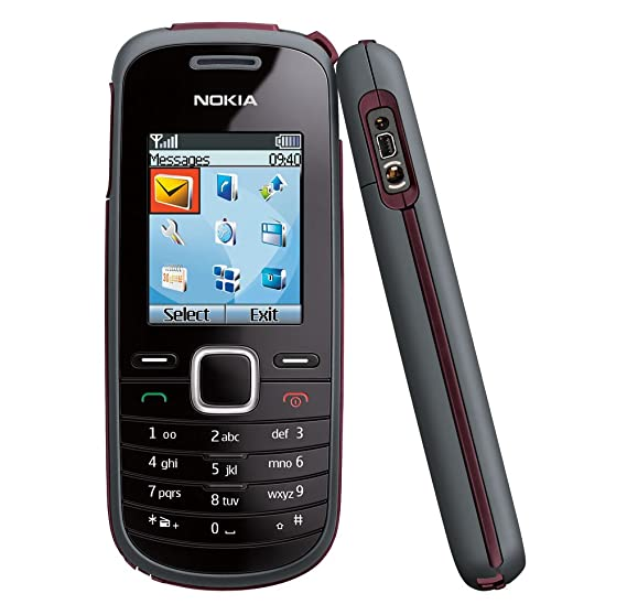 Amazon com: Nokia 1661 Prepaid Phone, Black (T-Mobile): Cell Phones