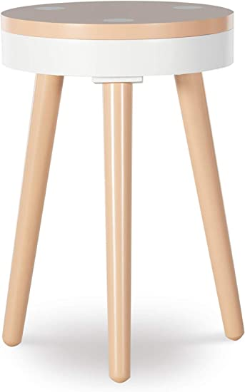 Powell Company Powell Cricket Orange Accent Side Table