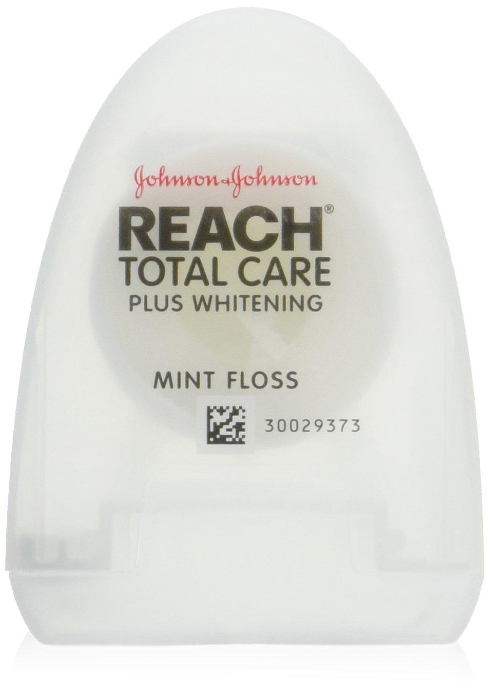 Reach Total Care Dental Floss Plus Whitening (4 Pack)