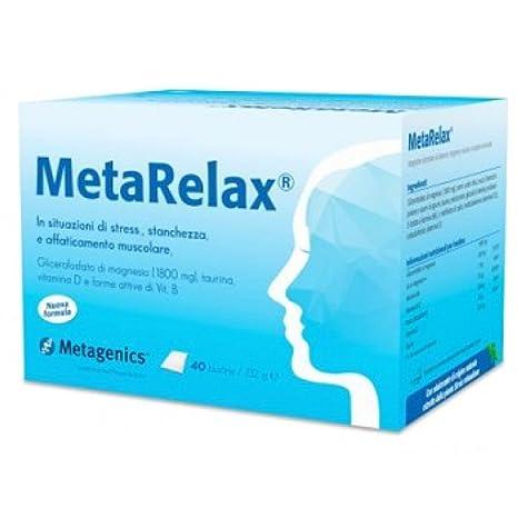Amazon.com: Metagenics Metarelax New Food Supplement 40 Sachets: Health & Personal Care