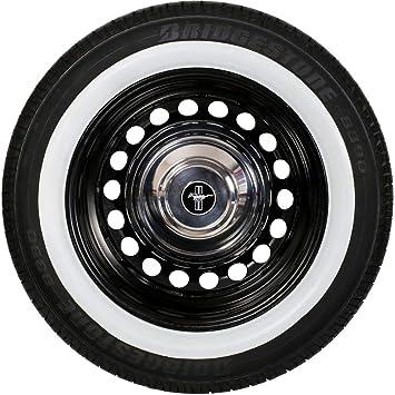 2 New Whitewall 14/'/' Portawall Tire insert Trim 2 pcs spare #111