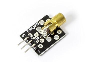 Mini 650nm 5mw 5v laser dot diode modul für: amazon.de: elektronik