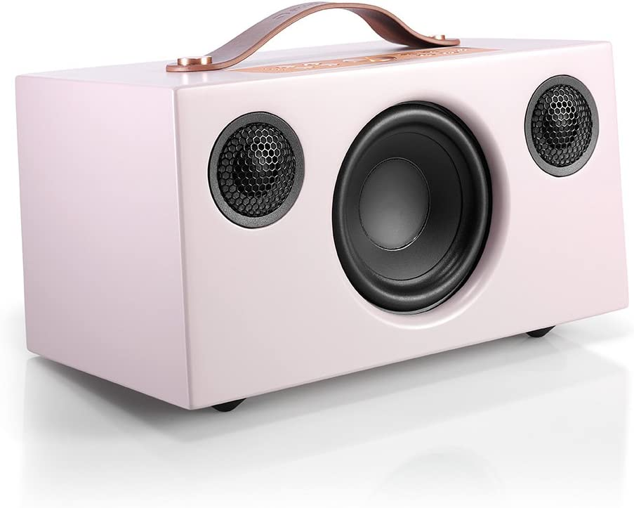 Audio Pro Addon C5 – Compact WiF Wirelessi Multi-Room Speaker – High Fidelity – Compatible with Alexa – Pink