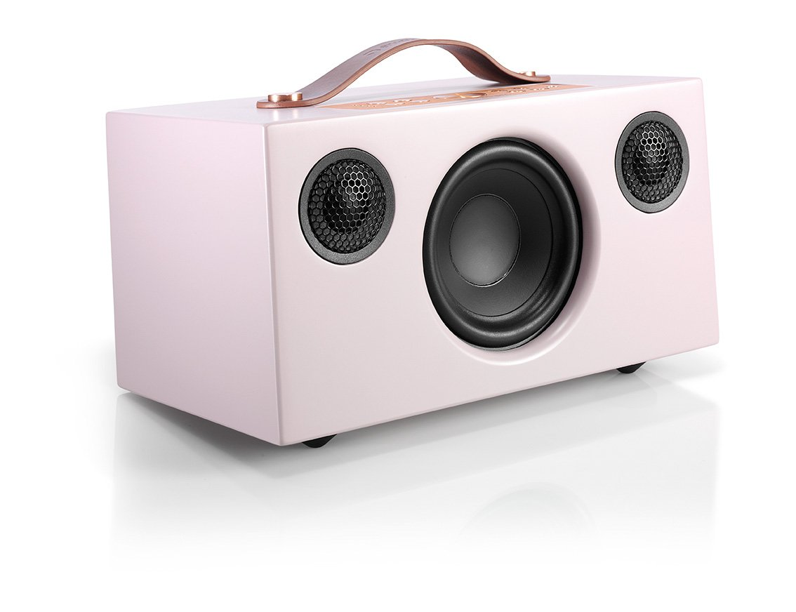 Audio Pro Addon C5 Altavoz (25 Watt, Multiroom, Stereo, WiFi, Bluetooth, App, Air Play, Music Apps (Spotify, Tidal, Deezer), Radio por Internet como TuneIn) Color Rosa