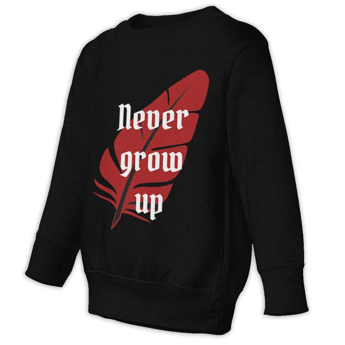 Yuliang Never Grow Up Boy Fashion Sweater Black