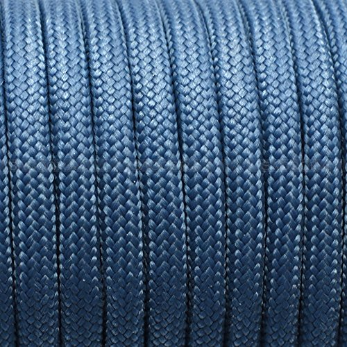 1pcs 100ft 550 Paracord Parachute Cord Lanyard Mil Spec Type III 7 Strand Core (color 124) ()