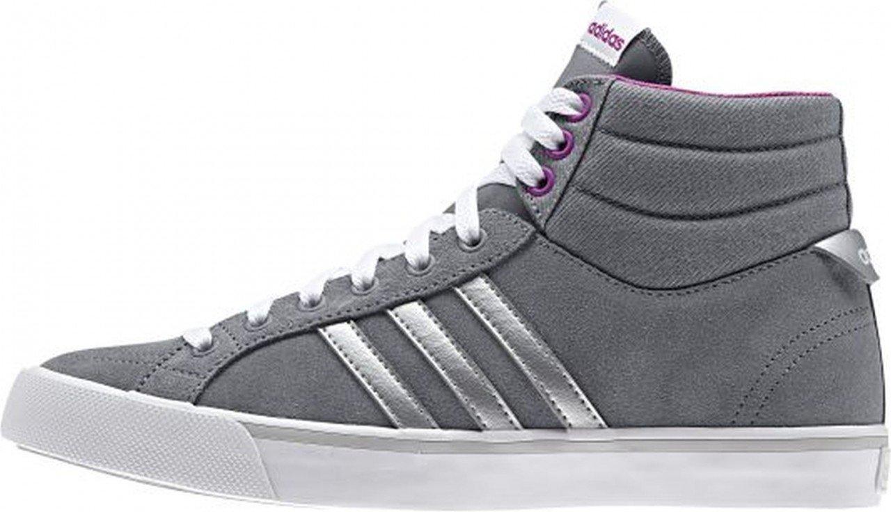 adidas Neo PARK ST MID W Grau Lila Wildleder Damen Mode Sneakers Schuhe Neu  36
