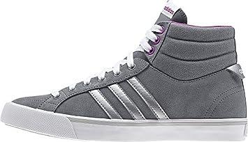 good selling 100% high quality reliable quality adidas Neo PARK ST MID W Grau Lila Wildleder Damen Mode Sneakers Schuhe Neu