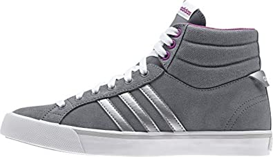info for bdc23 3c476 adidas Neo Park ST Mid W Grey Purple Suede Women Fashion Sneakers Shoes  New, Womens