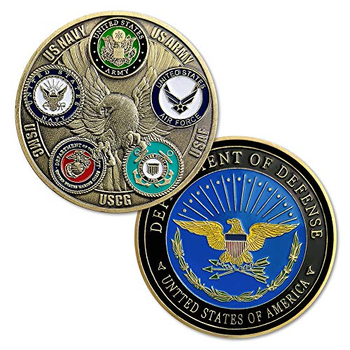- AtSKnSK United States Proud Military Family Challenge Coin