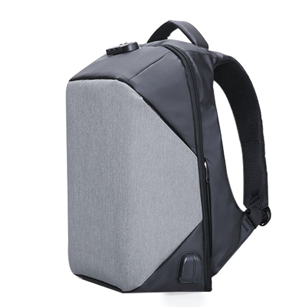 KALIDI Sac à dos 17.3 Pouce Antivol Ordinateur Portable, Backpack 15.6 pouces Sac Laptop USB Prise Audio Etanche Macbook Surface Pro Rucksack Camping Voyage Bureau Outdoor