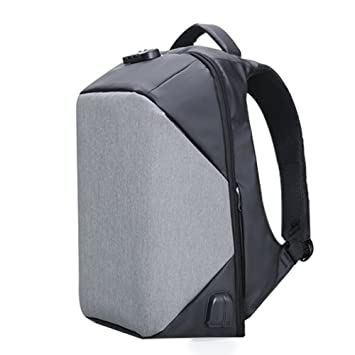 KALIDI 15.6 inch Anti Theft Laptop Backpack Rucksack with Lock & USB port  Audio Jack Outdoor