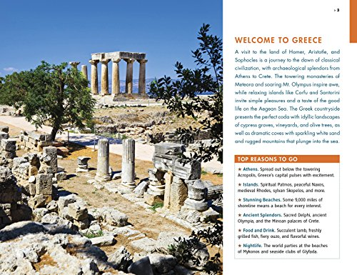 61N2xWVeOTL - Fodor's Essential Greece: with the Best Islands (Full-color Travel Guide)