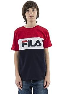 0694cd21c1480 Fila 687196 T-Shirt Kid  Amazon.co.uk  Clothing