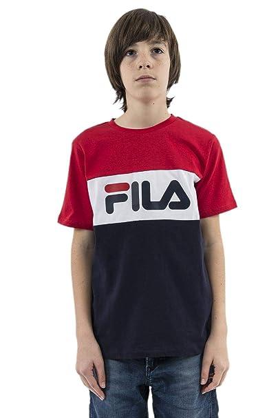 0037a3349 Fila Kids Classic Day Blocked Tee, Maglietta - 4 ANS: Amazon.it:  Abbigliamento