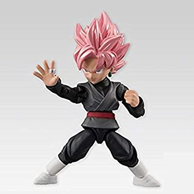 BANDAI Dragon Ball Z Power 66 Collection SS Rose Goku Black Action Figure: Toys & Games