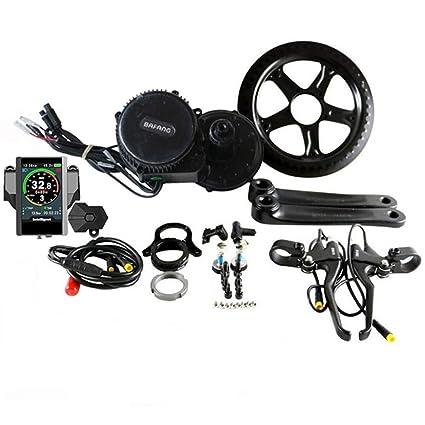 EUNORAU 48V500W Kit de Motor de Bicicleta eléctrica de Medio Disco ...