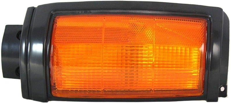 Corner Light For 87-93 Dodge Ram 50 w// black trim Passenger Side w// Bulb