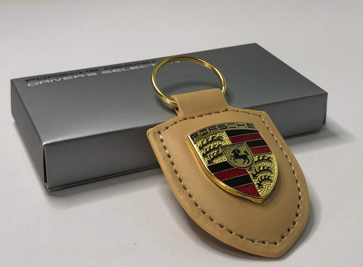 NEGRO Car Design TP Llavero cuero coche de Porsche para 911,Panamera Cayenne