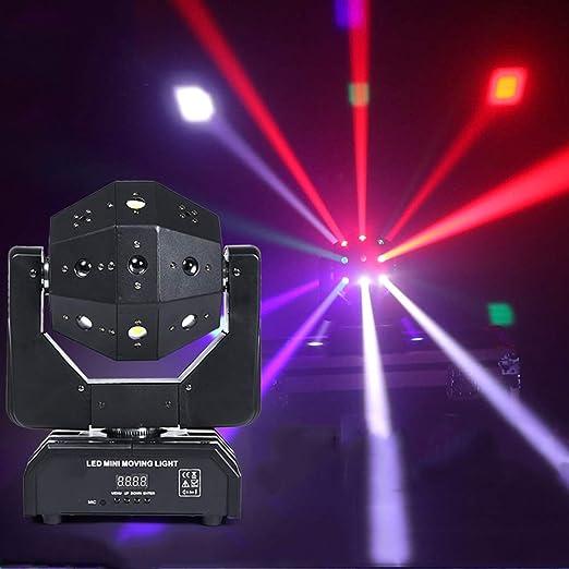 Luces de fiesta RGB, luces de discoteca, proyectores de DJ ...