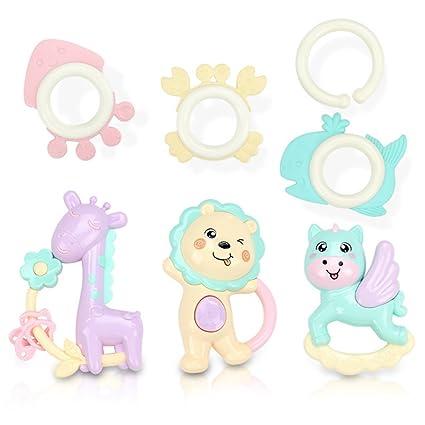 Juego de 6 piezas de juguetes para bebé, juguetes para niños ...